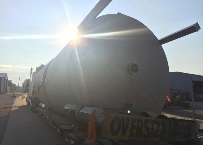 6,000 Gallon Stainless Steel Batch Tank
