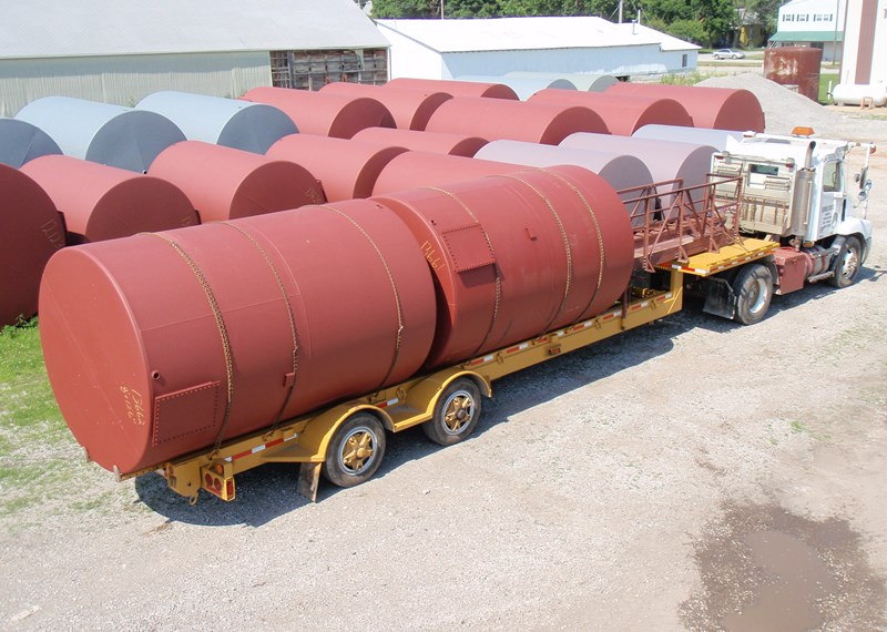210BBL Stand up Trailer