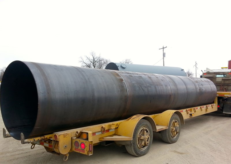 Oversize Pipe Cylinder
