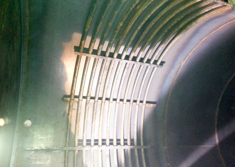 Steam Heat Coil Tank