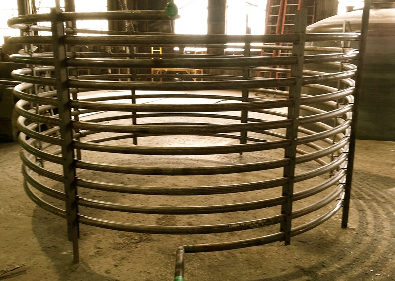 Tank Pipe Heat Coil