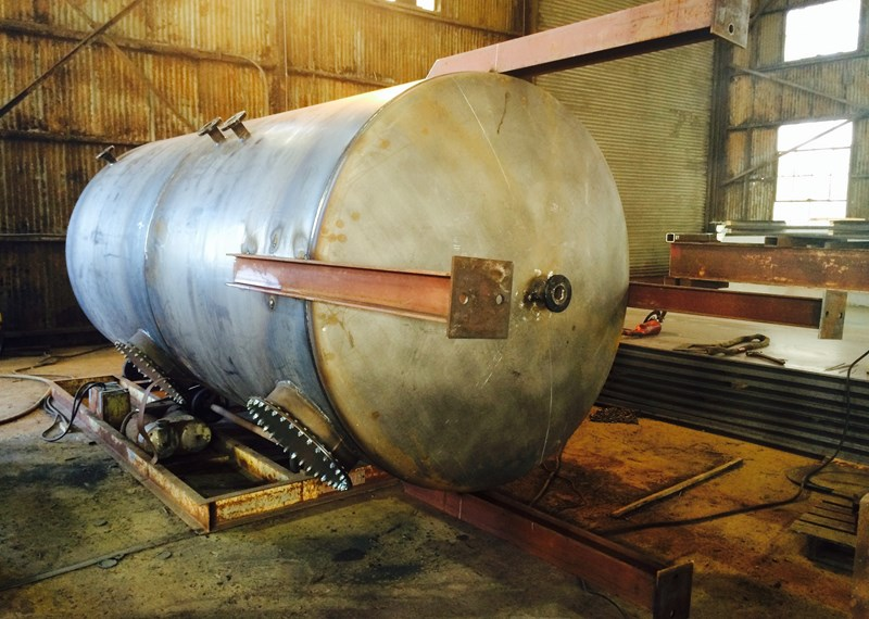 2 Compartment Bulk Storage Tank