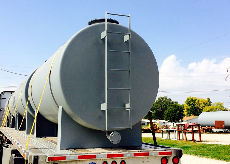 Custom Fabricated Horizontal Tank
