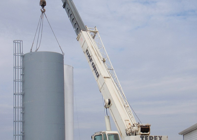 Fertilizer Water Bulk Tank 12x35