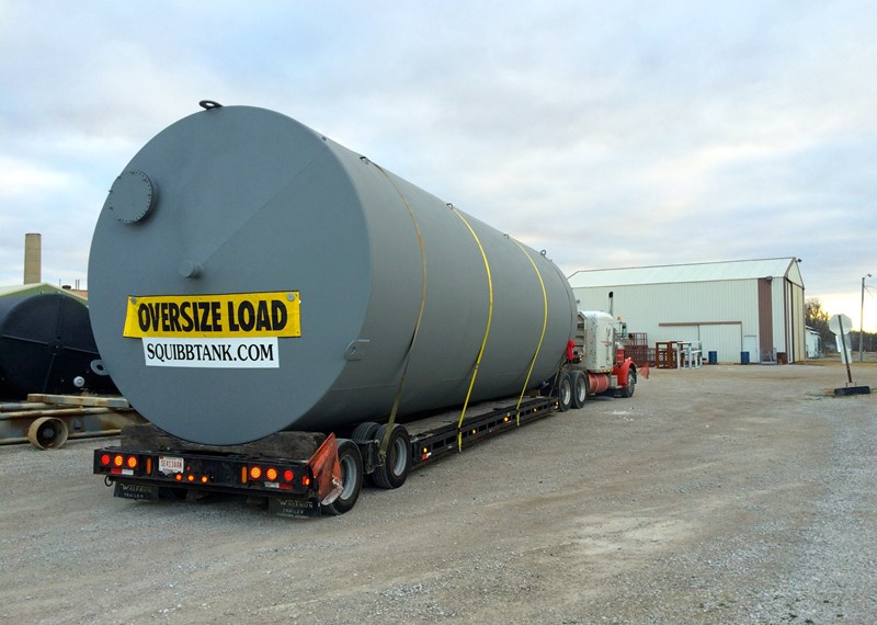 Liquid Fertilizer 30,000 Gallon Tank