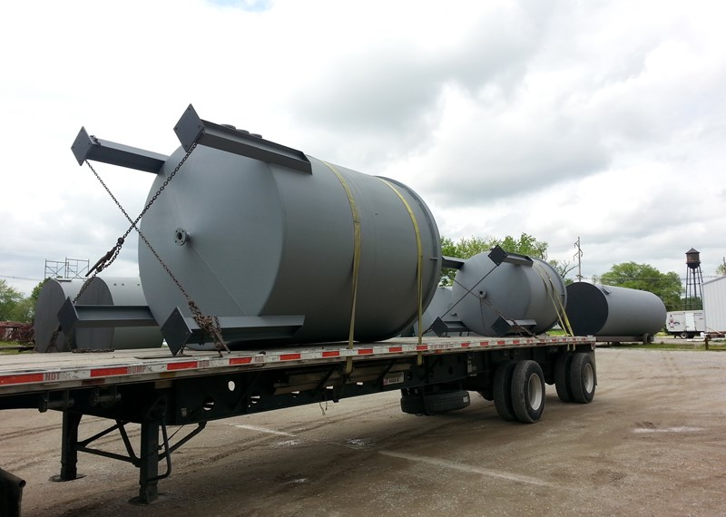 Open Top Mixing Tanks Steel