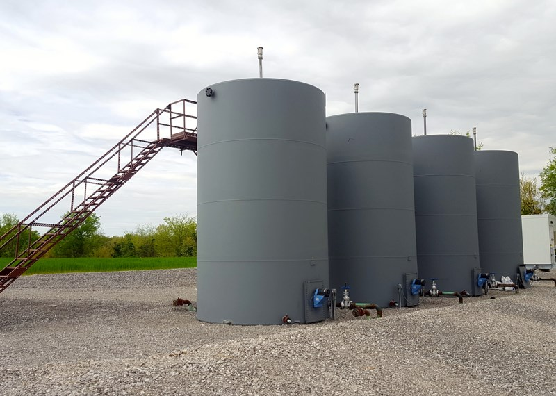 400 Barrel Steel Tanks