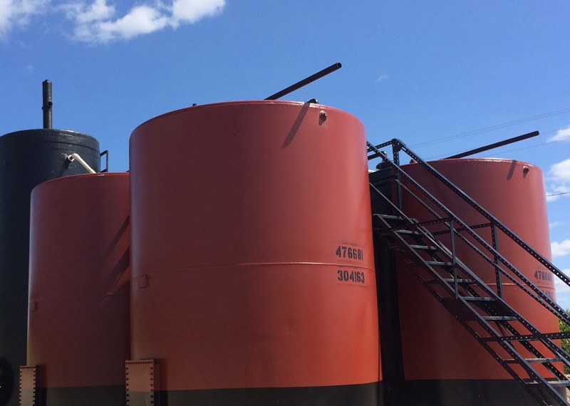 Oifield Tank Battery 210BBL