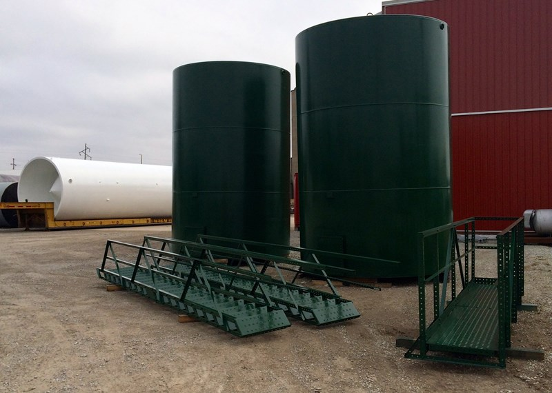 Steel Oilfield Tanks