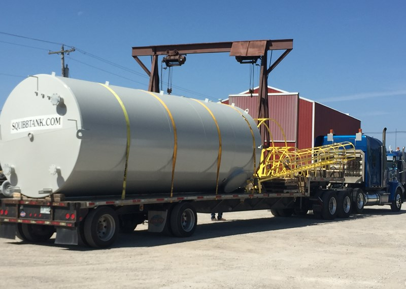 Custom Steel Storage Tanks