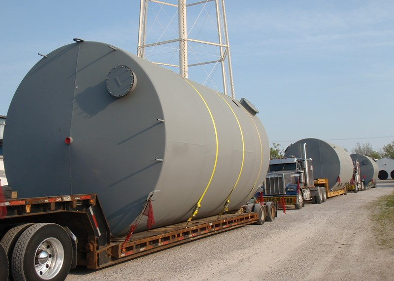 14' Diameter Shop Built Asphalt Concentrate Tank