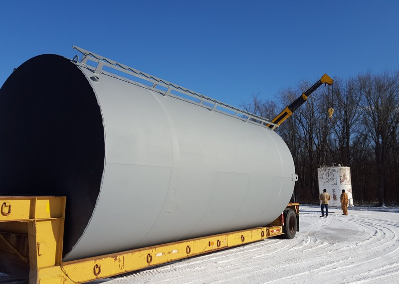 21000 Gallon Fuel Tank