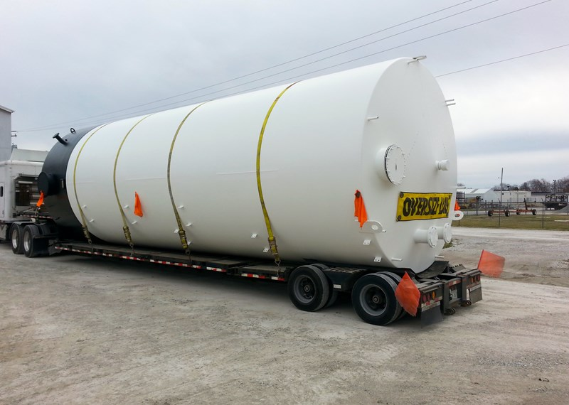 30,000 Gallon Storage Tank - Custom Fabrication