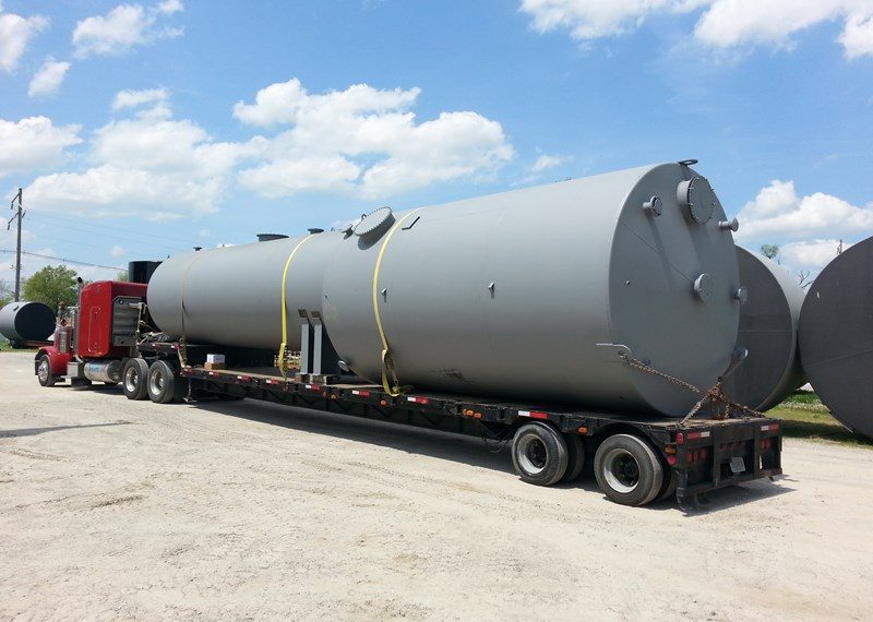 Horizontal Vertical Steel Fuel Storage Tank