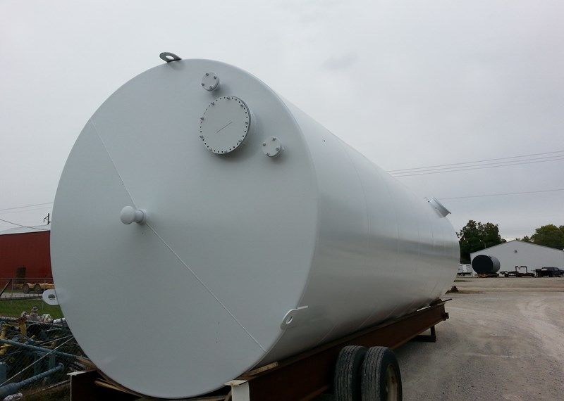 UL 142 30000 Gallon Vertical Steel Storage Tank